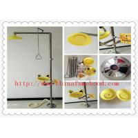 China Portable Laboratory Fittings  SUS304 Chemical Laboratory Emergency Safety Shower And Eye Wash Station on sale