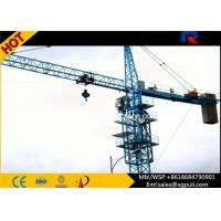 China 12 Ton Top Kit Building Tower Crane Boom Length 70m Remote Control wholesale