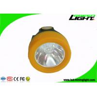 China Cordless 1.1W Cree Led Mining Cap Lights USB Charger with 15 Hours Lighting Time wholesale