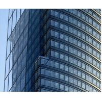 Quality Mill Finished Silver Color Aluminum Extruded Profiles For Glass Curtain Wall for sale