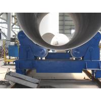 China 20T Self Aligning Pipe Welding Rollers Hydraulic Bending Machine With Moving Wheels wholesale