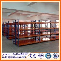 China Widespan high rise system medium duty steel shelving system wholesale