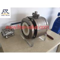 Buy cheap Flange Type Ceramic Lined Ball Valves for coal fired fly ash system,ceramic ball from wholesalers