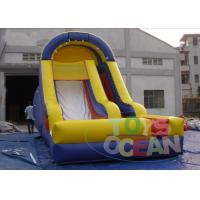 China Rental Commercial Bounce Inflatable Slides Amazing For Party 0.55MM PVC wholesale