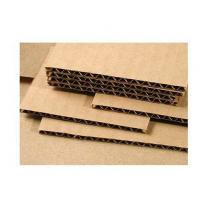 China Wood Pulp Corrugated Card Sheets 3.0mm Thickness Grey Color Anti - Collision wholesale