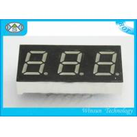 China 37.6X19X8 Mm 3 Digit 7 Segment LED Digital Display For Household Eletronics , 0.56 Inch wholesale