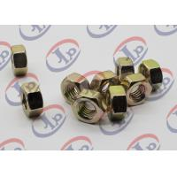 China Swiss Lathe Precision Turned Components , Hex Color Zinc Plated 1215 Iron Nuts wholesale