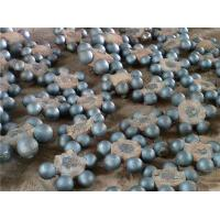 China Professional Custom Forged Steel Grinding Balls / Steel Bearing Balls Hardness > 48HRC Steel with Chrome on sale