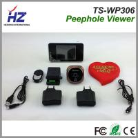 China 2.4GHz wireless wide angle door viewer 3.5