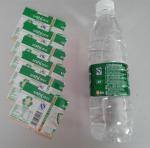 China PVC Water Bottle Shrink Sleeve Labels For Detergent Bottle Packaging wholesale