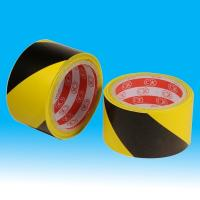China rubber adhesive underground electrical warning tape for road safety / Barrier sign wholesale