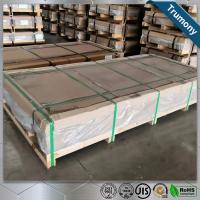 China Huge Length Width 2mm Aluminium Alloy Sheet For Automobile High Speed Railway wholesale