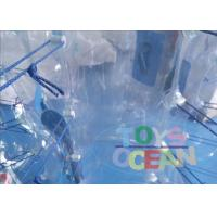 Quality Outdoor Amazing Inflatable Bumper Ball Clear Bubble Sumo Balls For Kids / Adults for sale