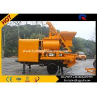 China 37kw Power Hydraulic Concrete Mixer Pump Trailer 40m3/h Pumping Output wholesale