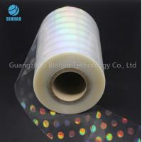 China Holographic Polyethylene BOPP Packaging Film For Food Box Packing wholesale
