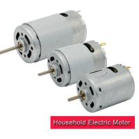 China RS-3 12v Electric Motor High Torque , 27.7mm Small Electric Motor With Carbon Brush on sale