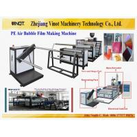 Buy cheap Vinot Factory Air Bubble Film Making Machine  Customized for Thailandl With Different Material: LDPE Model No. DY-1200 from wholesalers