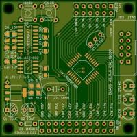 China FR4 Material Multilayer PCB 4- Layer Surface Finish ENIG Industrial Control Board Copper 1OZ wholesale