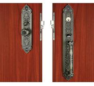 Quality Kitchen Bathroom Entry Door Handlesets Sliding Exterior Door Knobs for sale
