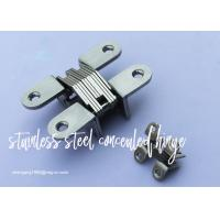 China Furniture Cabinet Stainless Steel Concealed Hinges Angel cupboard Hinge wholesale