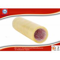 China 6 Rolls Per Shrink Clear BOPP Adhesive Packaging Tape 48mm Width wholesale