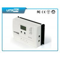 China 15A 20A 30A MPPT LCD solar charger controller with USB , street lights controller wholesale