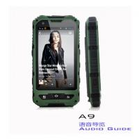 Quality A9 Android Audio Tour Guide Equipment , Audio Tour Devices For Qrcode Digital for sale