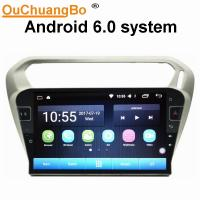 Quality Ouchuangbo car radio audio android 6.0 for Citroen Elysee Peugeot 301 with gps navi AUX USB 32 GB for sale