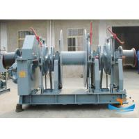 One Drum Electric Anchor Windlass , Double Warping End Anchor Winch For Small Boats