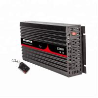 China Pure Sine Wave 60 HZ 12V Solar Power Inverter 2000W With LED Red Light wholesale
