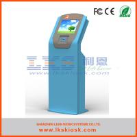 China Cash Coin Acceptor Self Service Kiosk Information Terminal FCC wholesale