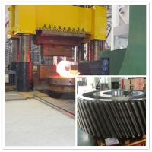 Buy cheap MTC Hydraulic Press Forging Gear ASTM EN10228 STD Reducer Mining from wholesalers