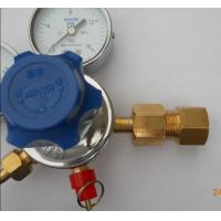China Forged Brass Body Double Gauge Co2 Beer Regulator 3000/3500 Psi Max Input Pressure wholesale
