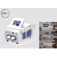 China 2 Handpieces Multifunction Beauty Machine OPT IPL RF SHR & SSR Super Hair Removal wholesale