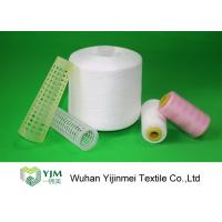 China 100% TFO Polyester Sewing Thread Dyeing Low Shrink And No Broken End on sale