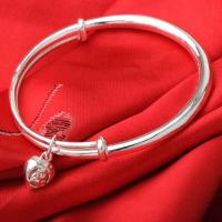 China 2012 engraved sterling silver bangle wholesale