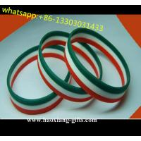 China Jewelry type Main Material and Bangles silicone Bracelets colorful logo wholesale