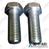 China AL6XN China fastener stainless steel hex bolt,full thread DIN933 wholesale