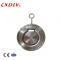 China H74 Single Disc Swing Wafer Check Valve With Spring Stainless Steel ANSI 150LB wholesale