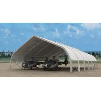 China Giant 50m X 60m Airplane Hangar Tents Aluminium Frame Pcv Fabric wholesale