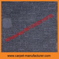 Hotel soft Colorful pattern Nylon Carpet tiles flooring with backing