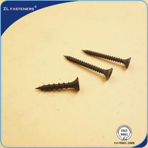 China Steel Countersunk Head High Tensile Screws Phillips Self Drilling Screw Black Phosphated wholesale