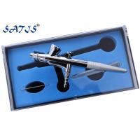 China 136 Dual Action Aibrush For  Body Decoration With 2cc Cup wholesale