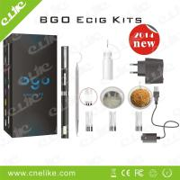 China 3 in 1 E-cigarette use Dry herb, Wax/E solid and E liquid, Patent Bgo Kit suit Lcd Battery Special Ecig Type wholesale