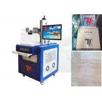 China UV Laser Marking Machine Plastic With Water Cooling System , 356nm wavelength wholesale