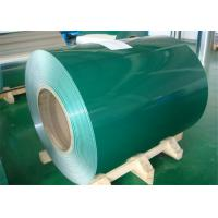 China Curtain Wall Color Coated Aluminum Alloy Coil With 5 - 8 Microns Primer Epoxy wholesale