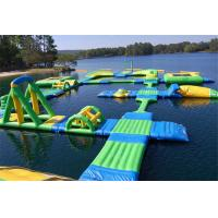 China Giant Commercial Inflatable Water Parks Summer Water Toys Game For Lake on sale