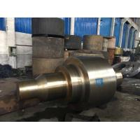 China Forged Monoblock Roller Alloy Steel Forgings For Roller Press wholesale