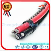 Xlpe / PVC / PE  Insulated AAAC Triplex Service Drop Cable 25 - 120 Mm2 Range