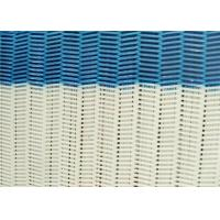 China 100% Polyester Dryer Spiral Wire Mesh Screen With Large / Medium / Small Loop wholesale
